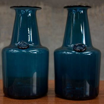 Mid Century Furniture Mr-Mod-1960s-Hand-Blown-Glass-Vases